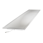 Noxion LED Panel Econox 32W Xitanium DALI 30x120cm 3000K 3900lm UGR <22 | Dali Dimmable - Warm White - Replaces 2x36W
