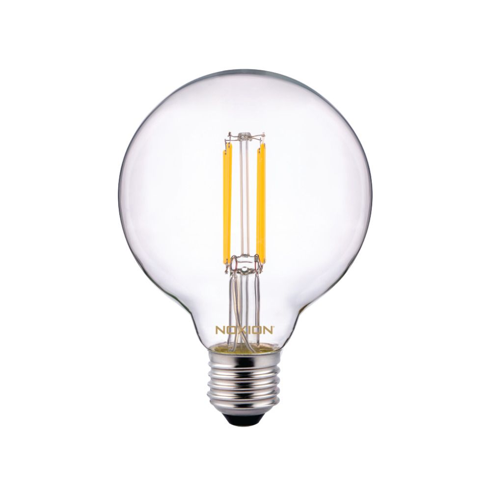 Noxion PRO LED Globe Classic Filament G95 E27 6.5W 827 Clear | Extra Warm White - Replaces 60W