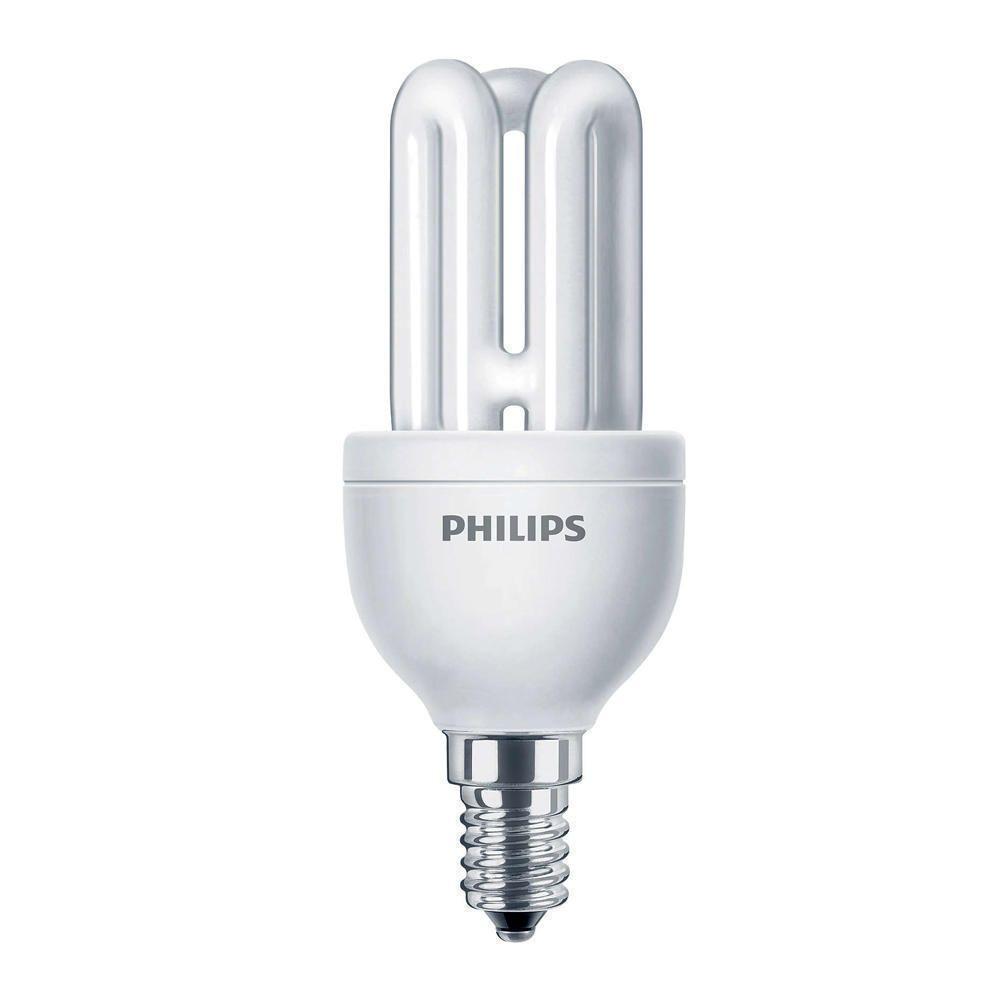 Philips Genie ESaver 8W 827 E14   Extra Warm White