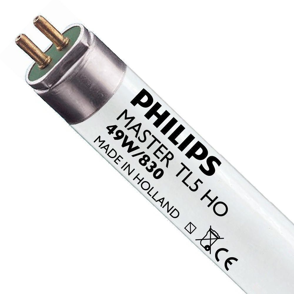 Philips TL5 HO 49W 830 (MASTER) | 145cm - Warm White