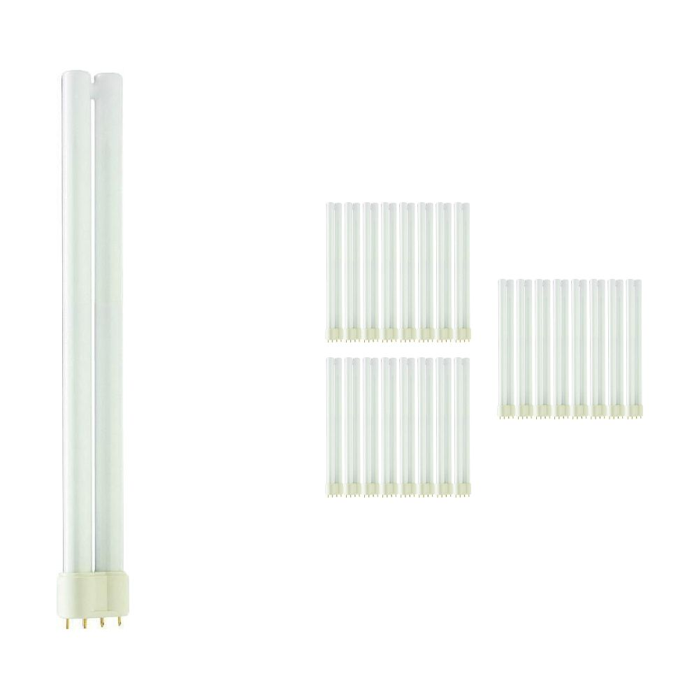 Multipack 25x Philips PL-L 24W 840 4P (MASTER) | Cool White - 4-Pin