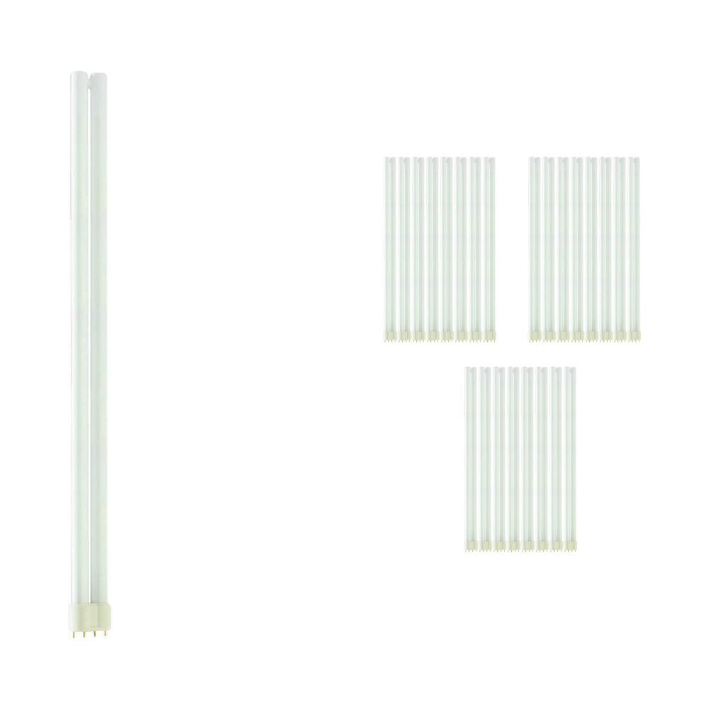 Multipack 25x Philips PL-L 55W 830 4P (MASTER) | Warm White - 4-Pin
