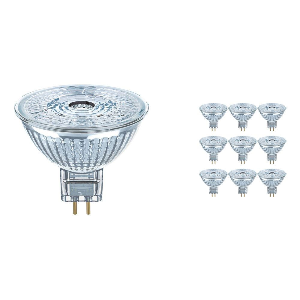 Multipack 10x Osram Parathom Pro GU5.3 MR16 6W 930 350lm | Dimmable - Warm White - Replaces 35W
