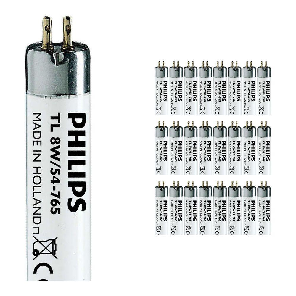 Multipack 25x Philips TL Mini 8W 54-765 - 29cm