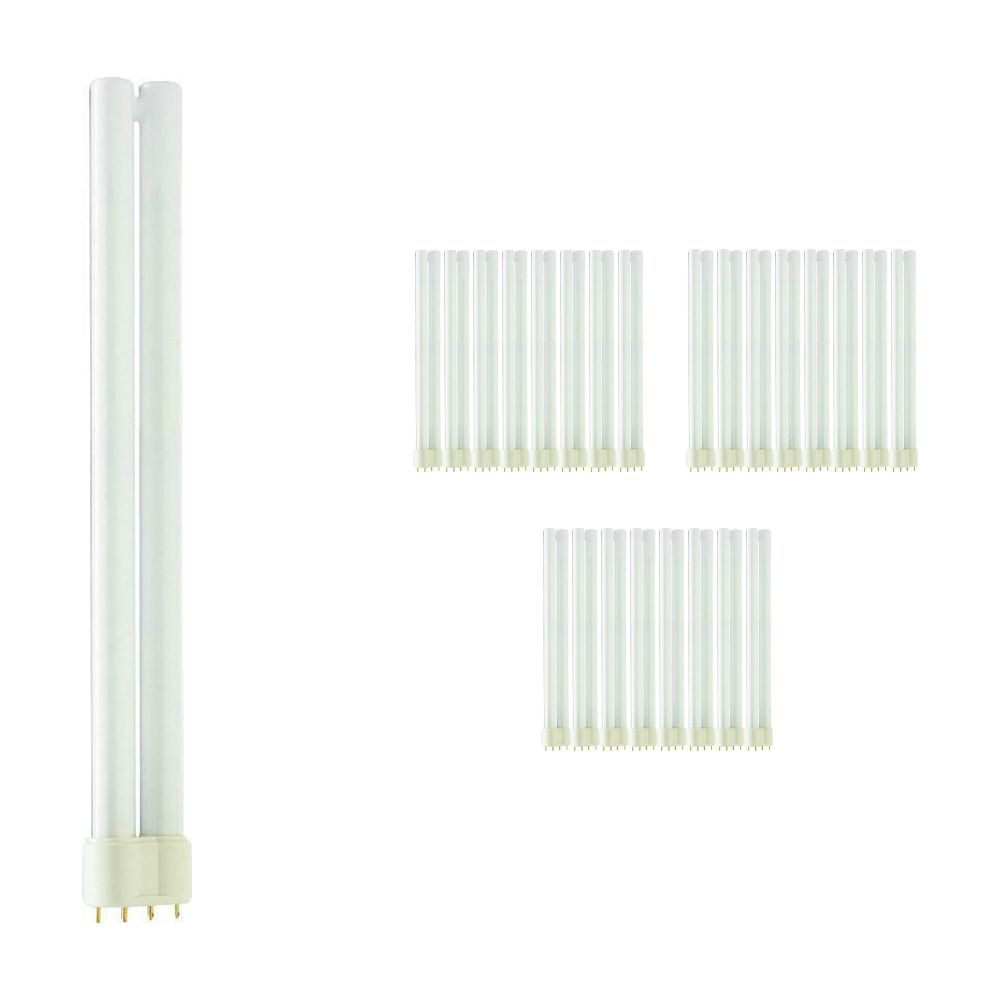 Multipack 25x Philips PL-L 24W 827 4P (MASTER) | Extra Warm White - 4-Pin