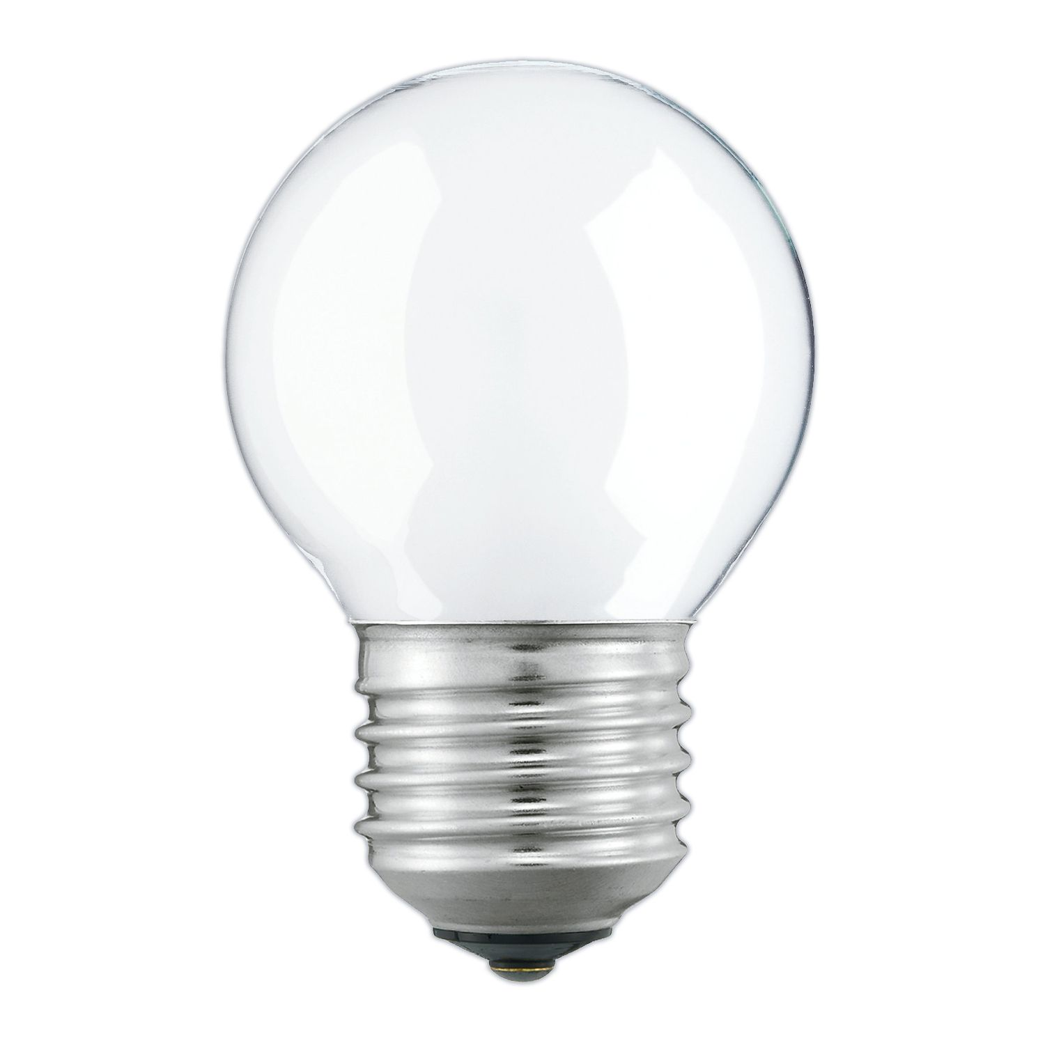 Standard Incandescent Bulb Round Frosted P45 E27 60W 230V