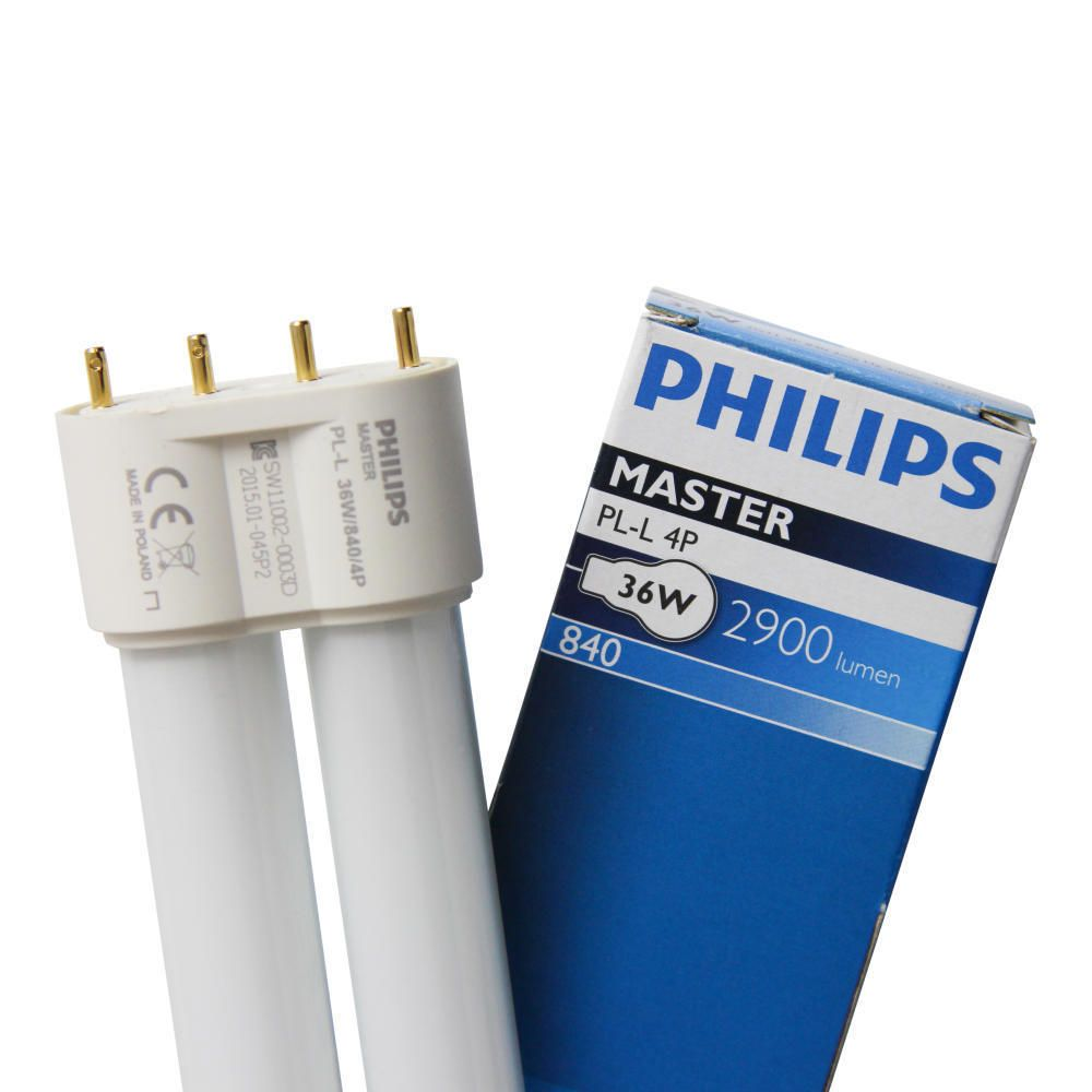Philips PL-L 36W 840 4P (MASTER) | Cool White - 4-Pin