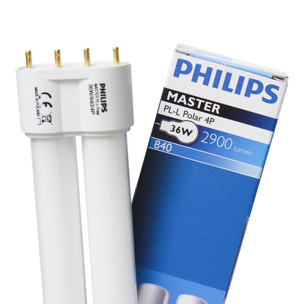 Philips PL-L Polar 36W 840 4P (MASTER)   Cool White - 4-Pin