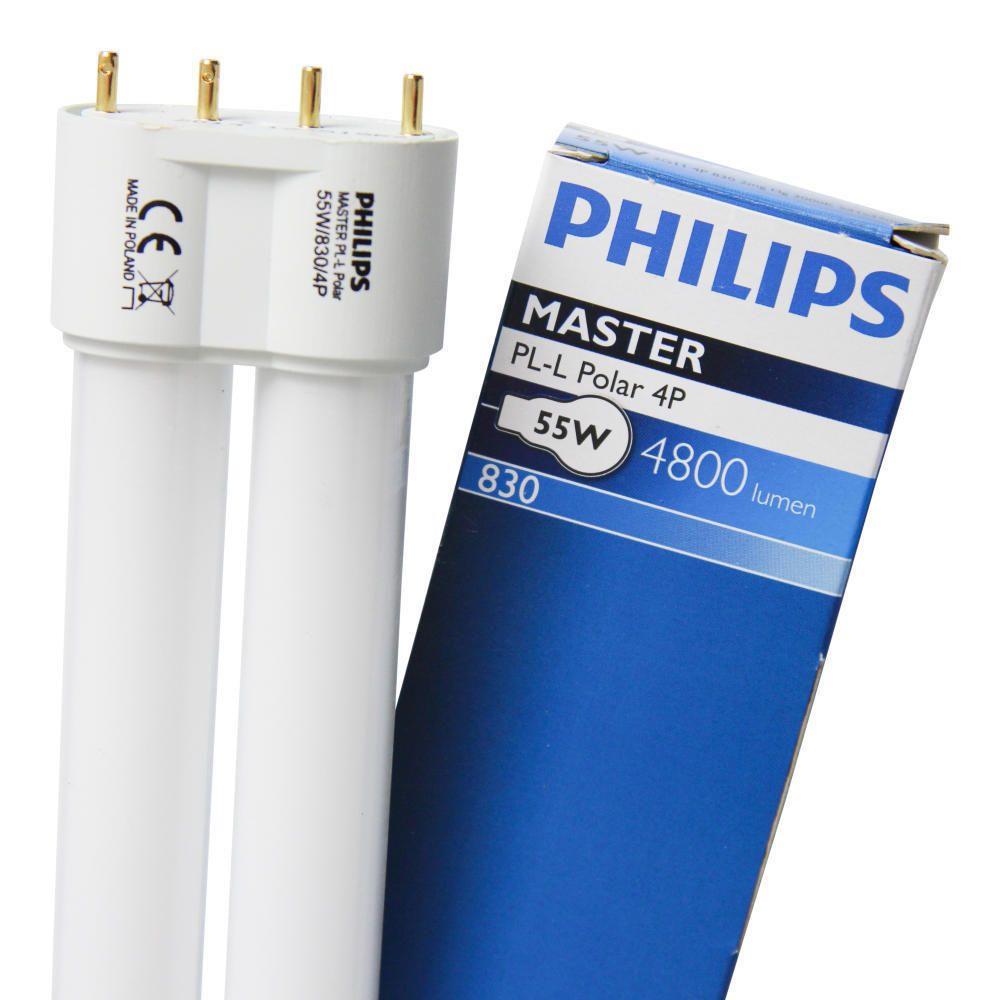 Philips PL-L Polar 55W 830 4P (MASTER)   Warm White - 4-Pin
