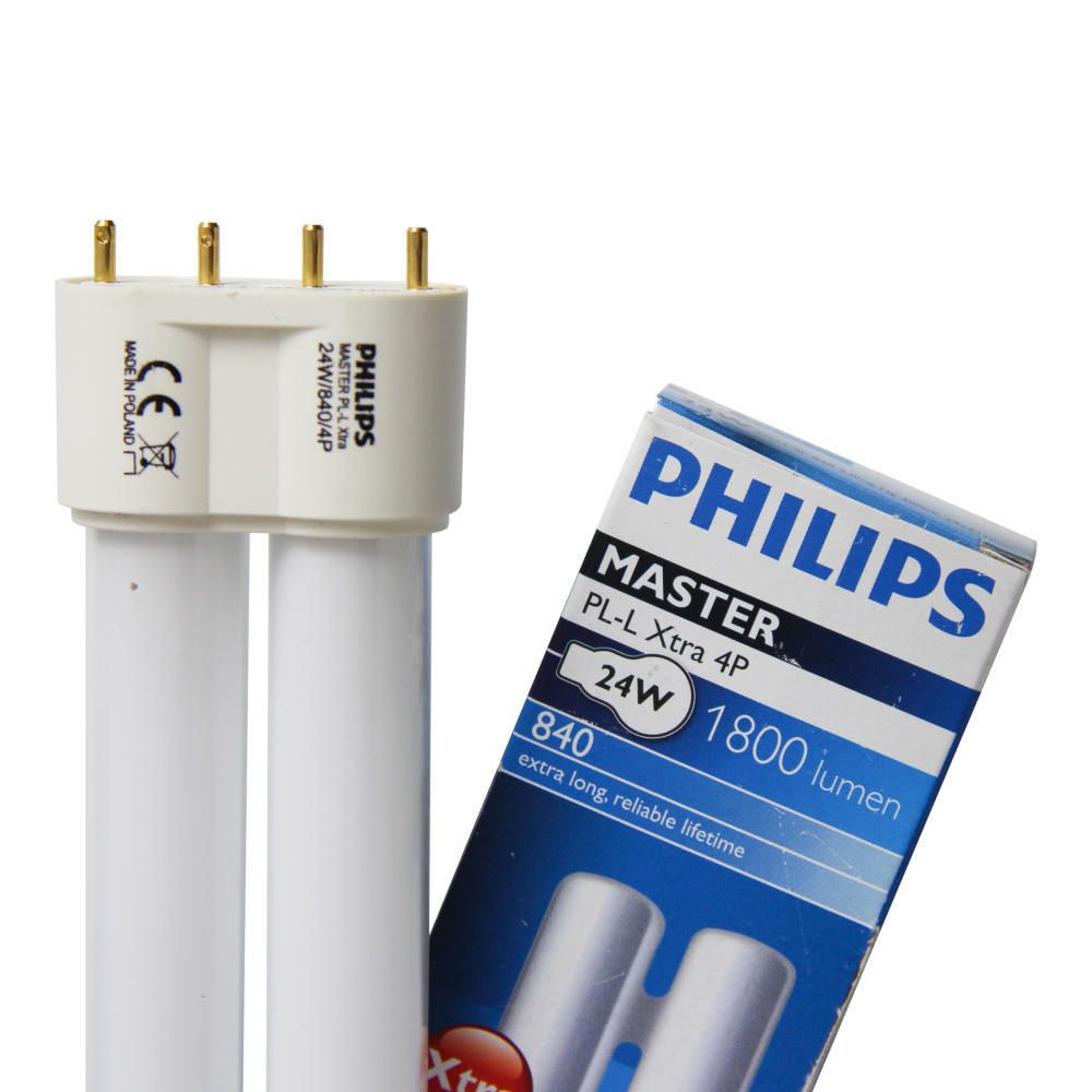 Philips PL-L Xtra 24W 840 4P (MASTER)   Cool White - 4-Pin