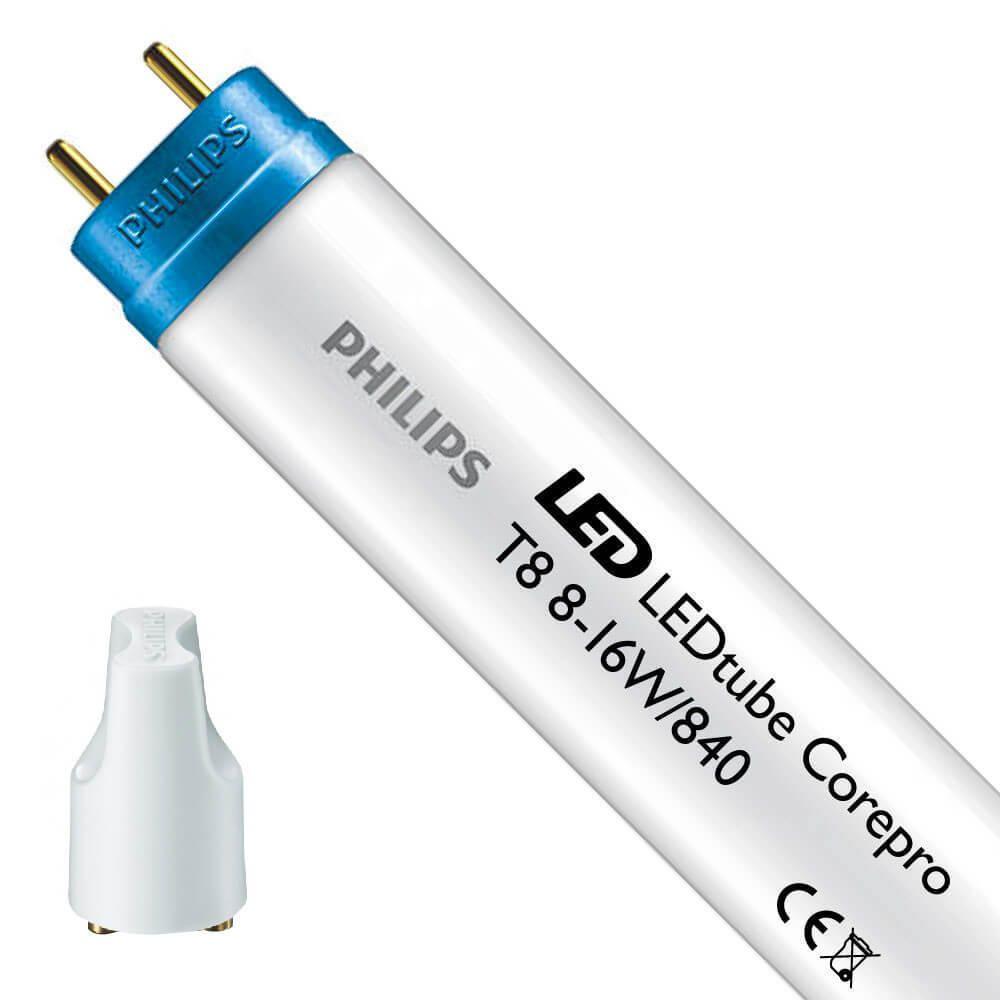 Philips CorePro LEDtube EM 8W 840 60cm | Cool White - incl. LED Starter - Replaces 18W