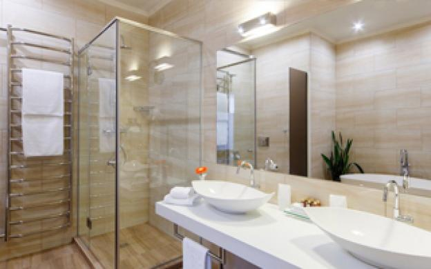 Which lights should I choose for the bathroom?
