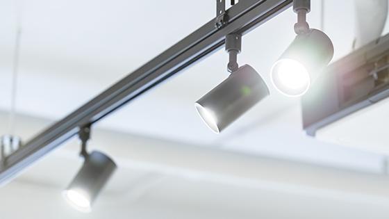 GU5.3 LED spotlight as track spotlight