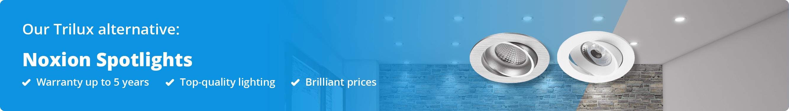 Banner Noxion alternative LED spotlights