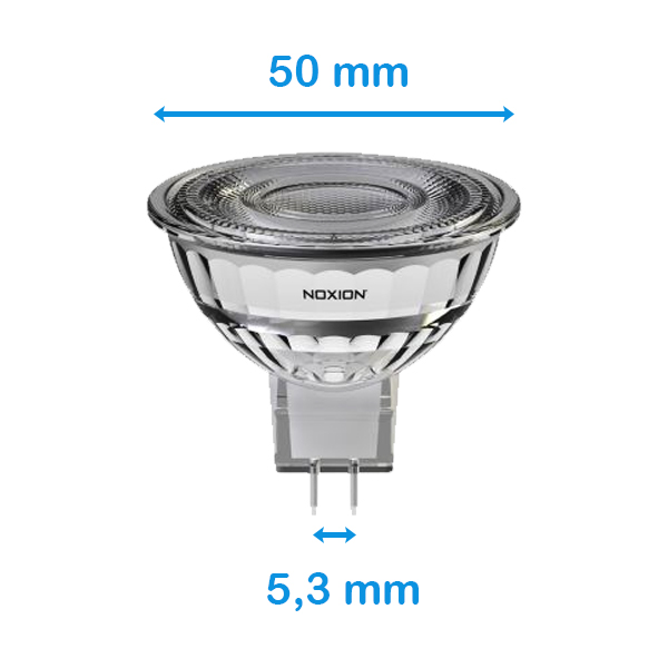 Structure of a GU5.3 LED spotlight