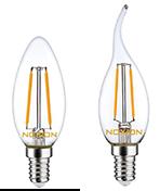E14-LED bulbs Noxion