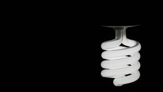 Energy saving lamps example